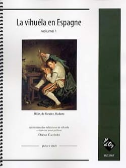 La Vihuela en Espagne vol 1 - Partition - laflutedepan.com
