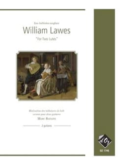 For two lutes William Lawes Partition Guitare - laflutedepan