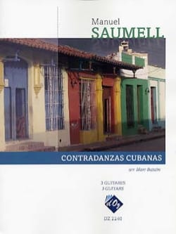Contradanzas cubanas - Manuel Saumell - Partition - laflutedepan.com