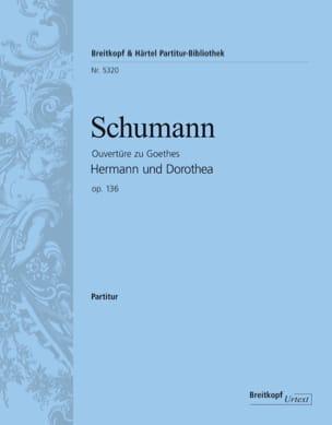 Hermann und Dorothea, Ouverture SCHUMANN Partition laflutedepan