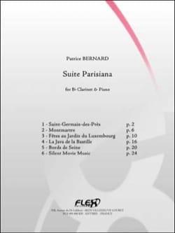 Patrice Bernard - Parisiana Suite - Sheet Music - di-arezzo.com