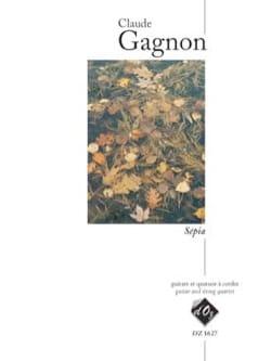 Sepia - Claude Gagnon - Partition - laflutedepan.com