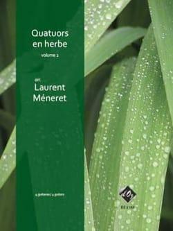 Quatuors en Herbe vol 2 - Partition - Guitare - laflutedepan.com