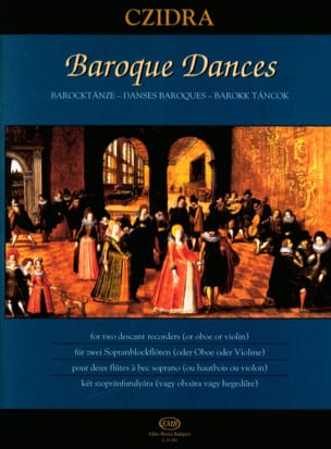 - Baroque Dances - Sheet Music - di-arezzo.com