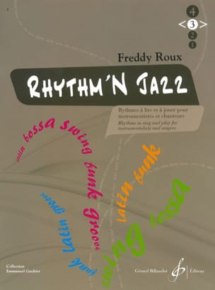 Freddy Roux - Rhythm'n Jazz Volume 3 - Sheet Music - di-arezzo.co.uk