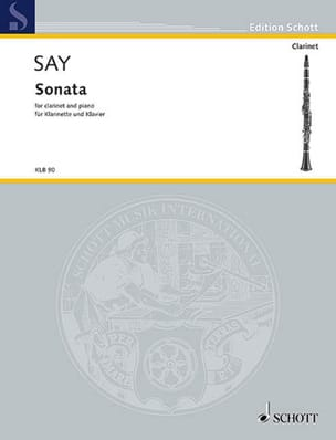 Fazil Say - Sonata - Partition - di-arezzo.fr