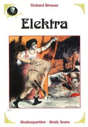 Richard Strauss - Elektra, Opera - Partition - di-arezzo.co.uk