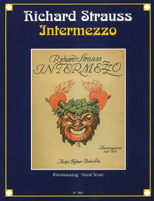 Richard Strauss - Intermezzo - Partition - di-arezzo.fr