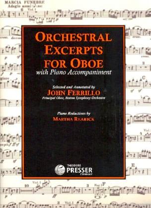 Orchestral Excerpts for Oboe Partition Hautbois - laflutedepan