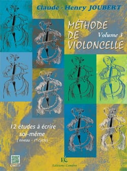 Claude-Henry Joubert - Cello Method Volume 3 - Sheet Music - di-arezzo.com