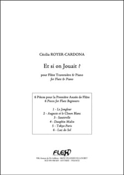 Et si on jouait ? Cécilia ROYER-CARDONA Partition laflutedepan