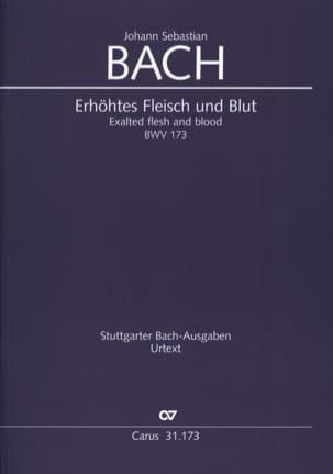 BACH - Erhöhtes Fleisch und Blut - Sheet Music - di-arezzo.com