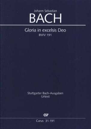 Gloria in excelsis Deo - Johann Sebastian Bach - laflutedepan.com