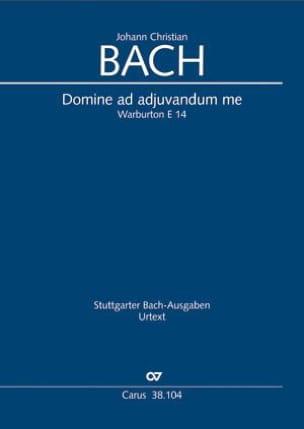 Johann Christian Bach - Domine ad adjuvandum me - Partition - di-arezzo.fr