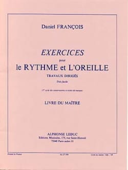 Daniel Francois - Rhythm and ear exercises - Volume 1 - Prof. - Sheet Music - di-arezzo.com