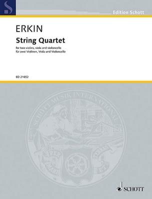 Ulvi Cemal Erkin - String Quartet - Partition - di-arezzo.fr