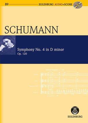 Robert Schumann - Symphonie n° 4 en ré mineur, opus 120 - Partition - di-arezzo.fr