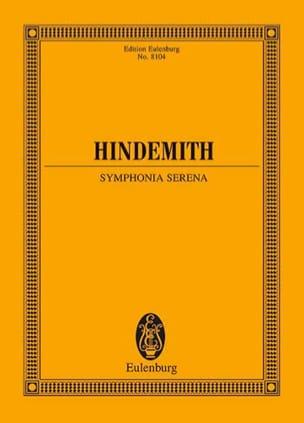 Symphonia Serena - Paul Hindemith - Partition - laflutedepan.com