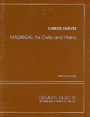 Carlos Chavez - Madrigal - Sheet Music - di-arezzo.com