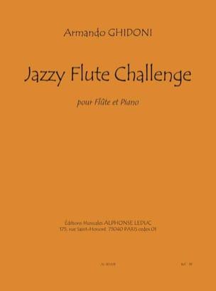 Armando Ghidoni - Jazzy Flute Challenge - Sheet Music - di-arezzo.com