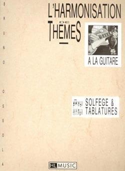 Harmonisation de thèmes - Bruno Ossola - Partition - laflutedepan.com