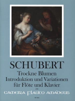 SCHUBERT - Trockne Blumen, Introduction et Variations - Partition - di-arezzo.fr