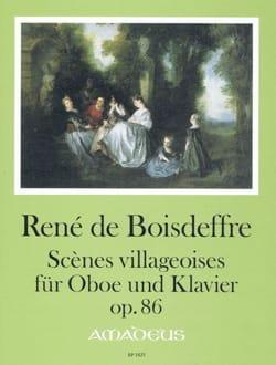 René de Boisdeffre - Scènes Villageoises, opus 86 - Partition - di-arezzo.fr