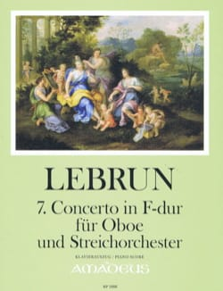 Ludwig August Lebrun - Concerto No. 7 in F major - Oboe and piano - Sheet Music - di-arezzo.com