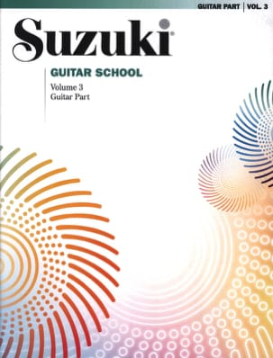 Suzuki Guitar School Guitar Part, Volume 3 - suzuki - laflutedepan.com