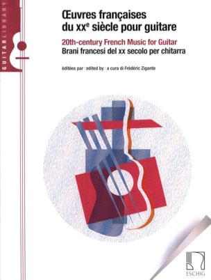 French 20th Century Artworks for Guitar - Sheet Music - di-arezzo.co.uk