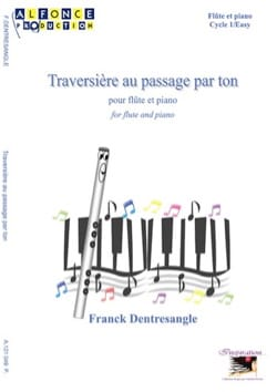 Franck Dentresangle - Traversière au passage par ton - Partition - di-arezzo.fr