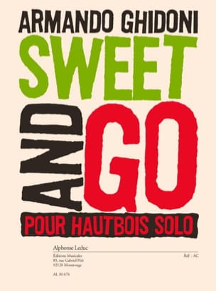 Armando Ghidoni - Sweet and Go - Hautbois seul - Partition - di-arezzo.fr
