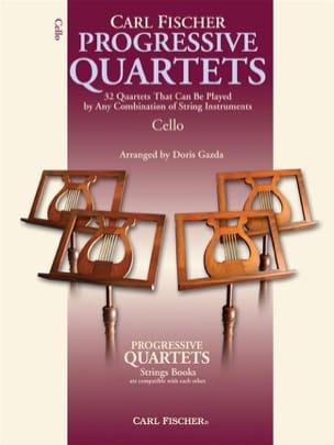 Gazda Doris - Progressive quartets for strings - Partition - di-arezzo.fr