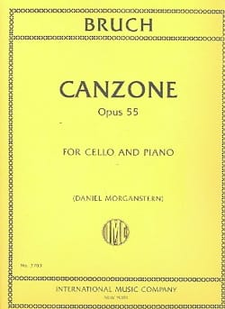 Canzone, opus 55 - Max Bruch - Partition - laflutedepan.com