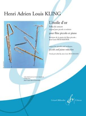Henri Adrien Louis Kling - L'Etoile d'Or - Polka de concert - Partition - di-arezzo.fr