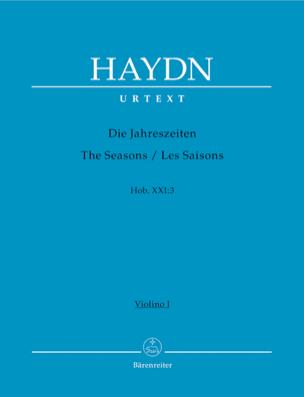 Les Saisons, Oratorio HAYDN Partition laflutedepan