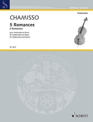 5 Romances - Violoncelle et piano laflutedepan