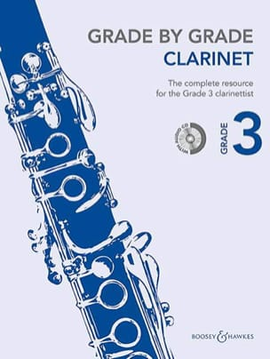 - Grade by Grade Clarinet - Volume 3 - Partition - di-arezzo.fr