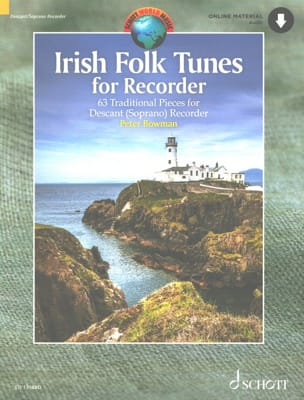Traditionnels - Irish Folk Tunes for Recorder - Sheet Music - di-arezzo.co.uk