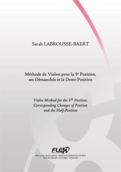Sarah LABROUSSE-BAERT - Violin-Methode für die 5. Position, seine Demementierte und Halbe Position - Noten - di-arezzo.de