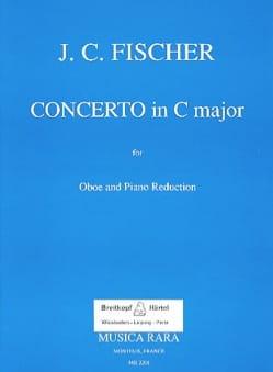 Concerto No 1 in C Johann Christian Fischer Partition laflutedepan
