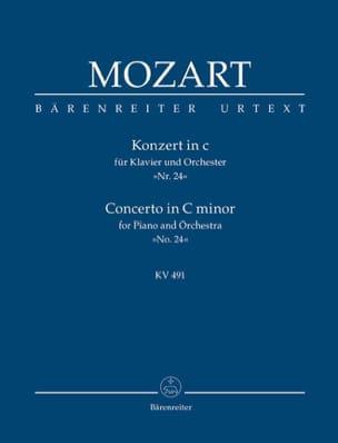 MOZART - Klavierkonzert c-moll KV 491 - Partitur - Sheet Music - di-arezzo.co.uk