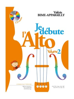 Valérie Bime-Apparailly - I start the Alto - Volume 2 - Sheet Music - di-arezzo.com