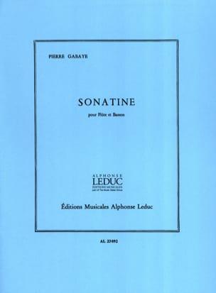 Pierre Gabaye - Sonatine - Flauta y fagot - Partitura - di-arezzo.es