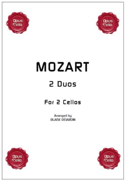 MOZART - 2 duos for 2 cellos - Sheet Music - di-arezzo.com
