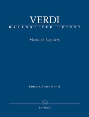 Messa da Requiem - Conducteur - VERDI - Partition - laflutedepan.com