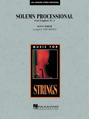 Gustav Mahler - Solemn Processional from Symphony N ° 4 - Sheet Music - di-arezzo.com