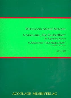 MOZART - 6 Arien aus Die Zauberflöte - Sheet Music - di-arezzo.com