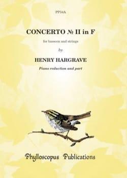 Henry Hargrave - Concerto N ° 2 in F - Sheet Music - di-arezzo.com