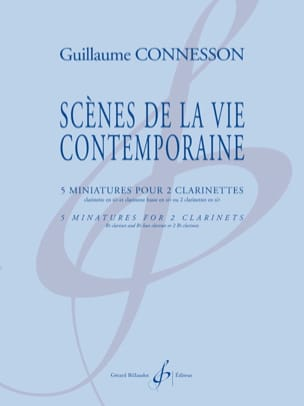 Guillaume Connesson - Scenes of contemporary life - Sheet Music - di-arezzo.co.uk